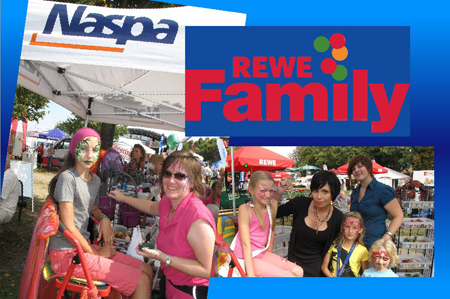 REWE Family - Day- Hochheim, Kinderschminken